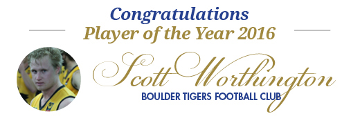 , The West Coast Poly Player of the Year 2016 is Scott Worthington