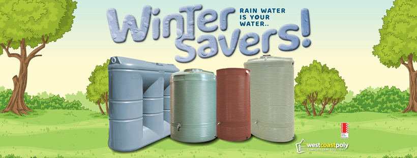 West Coast Poly - Winter Savers - Urban Tank promotion - Ends June 30, 2021