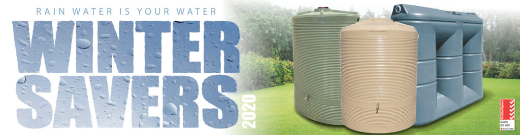 West Coast Poly - Urban Water Tanks - Winter Savers - 2020