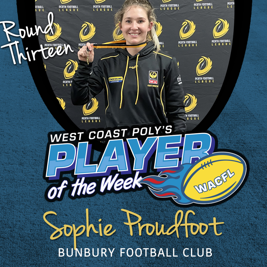 West Coast Poly - Player of the Week - WACFL - Round 13